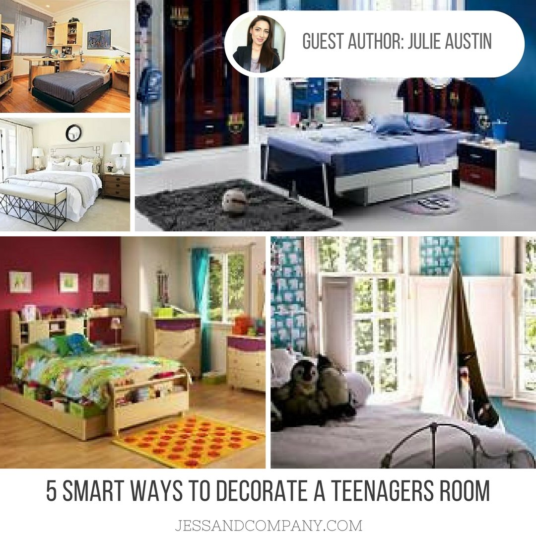 Guest Post: 5 Smart Ways To Decorate A Teenager's Room